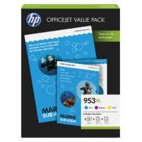 CARTUCHO HP 953XL PACK 3 COLORES C-M-Y (Espera 4 dias)